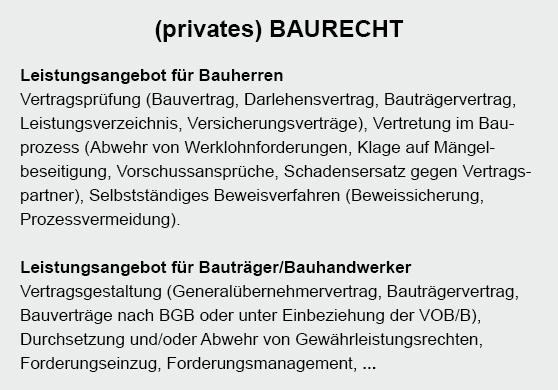 Bauvertrag