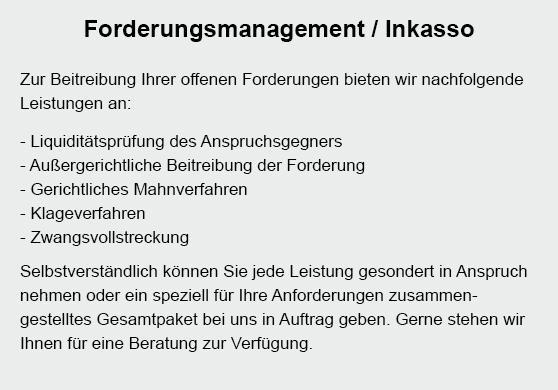 Kunde zahlt nicht für 71638 Ludwigsburg