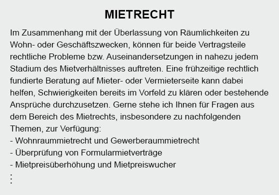 Mietrecht aus  Weilheim (Teck)